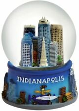 Indianapolis Indiana Snowdome Snow Globe-New - - 65 Mm