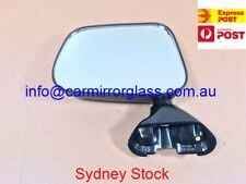 NEW DOOR MIRROR FOR TOYOTA HILUX 1988-2005 LEFT SIDE (MANUAL BLACK)