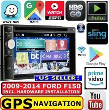 2009-14 FORD F150 GPS NAV WIFI BLUETOOTH AM/FM USB CD/DVD CAR RADIO STEREO PKG