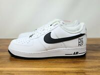 Nike Air Force 1 Low 'NY vs NY' White Black Men's Shoes Size 15 [CW7297-100] NEW