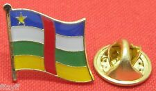 Central African Republic Country Flag Lapel Hat Tie Pin Badge Brooch CAR Africa