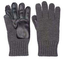 Men's Apt. 9 Grey Knit Touchscreen-Compatible Gloves Size: M/L