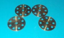 meccano laiton 4 disques 8 trous, No24a