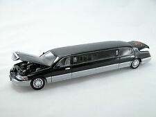 "Sunnyside 2003 Lincoln Limousine 1:28 Scale, 12.5"" Die Cast Collectable (Black)"