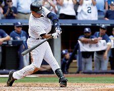 Derek Jeter New York Yankees MLB Baseball 3000th Hit 8x10 Glossy Color Photo