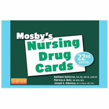 Mosby's Nursing Drug Cards by Mosby, Joseph A. Albanese and Patricia A. Nutz (20