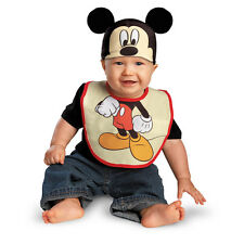 Disney Mickey Mouse Bib & Hat Infant Child Costume Disguise 58885