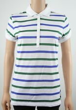 Tommy Hilfiger Golf Womens Stripe Polo Shirt TW363SAM  - M