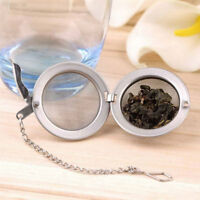 C712 Stainless Steel Tea Seasoning Bag Strainer Infuser Spice Egg Shaped Ball Ho