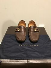 $495 - Ralph Lauren Purple Label - Brown Loafer - Size 10
