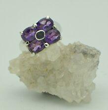 Amethyst Sterling Silver ring Purple Gemstones Dreamers Stone gemstone
