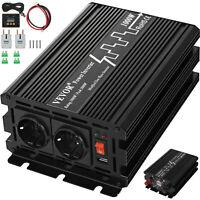 Modified sine Spannungswandler 2500W 5000W 12V 230V Wechselrichter Softstart KFZ