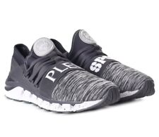 PHILIPP PLEIN Grey Runner Torpedo Sneakers Trainers Shoes Boots UK7.5 EU41 US8