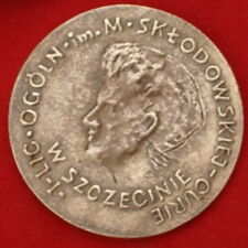 VERY RARE POLISH MEDAL - MARIE CURIE-SKLODOWSKA  - the Nobel Prize 1903, 1911
