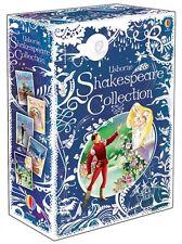 Usborne Children Shakespeare Collection 5 Books Gift Box Set - Deluxe Hardbacks