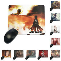 Personalized Customized Attack on Titan Mouse Pad Mousepad PC Mat