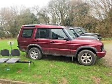 BREAKING WHOLE RED LAND ROVER DISCOVERY 2 TD5 MESSAGE ME FOR PARTS
