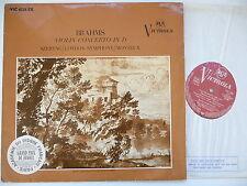 SZERYNG PLAYS BRAHMS VIOLIN CONCERTO LSO MONTEUX RCA VIC 1028