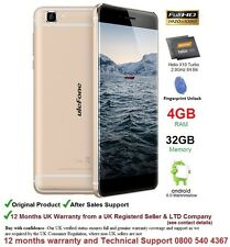 "Ulefone futuro 5.5"" Android 6 SMARTPHONE DUAL SIM OCTA CORE 4gb RAM 32gb 4g"