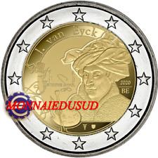 2 Euro Commémorative Belgique 2020 - Jan Van Eyck NEUVE