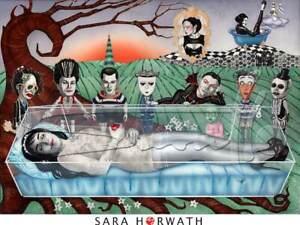 snowwhite and the 8 dwarfs limited Print pin-up burlesque fineart SARA HORWATH
