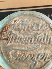 Vintage White Mountain ice cream maker 4 qt hand crank #4-64WMI