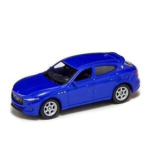 "Maserati Levante Blue Welly 1:60 1:64 52363 3"" inch Toy Car Model Rare"