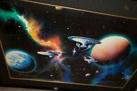 "Star Trek ""The Final Frontier"" signed  Nimoy, Shatner, Takie, Kelley, Koenig,..."