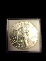 20 x Quadrum Square 2x2 Coin Capsules Snap Holders American Silver Eagle 40mm