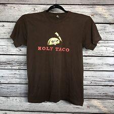 Holy Tacos T Shirt Men's M Lightning Bolt Fierce
