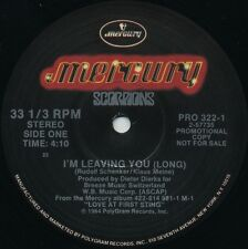 SCORPIONS I'm Leaving You (1984 2 Track Promo 12inch)