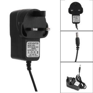 UK Plug 6V 1A 100-240V AC/DC Adapter Battery Charger Power Mains Transformer