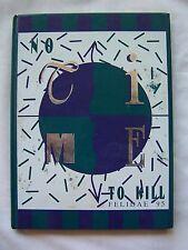 1995 COLBERT HEIGHTS HIGH SCHOOL YEARBOOK TUSCUMBIA, ALABAMA  FELIDAE