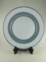 "TORSADE BLEU by CHRISTOFLE Porcelain 10 3/4"" Dinner Plate (s) new unused"