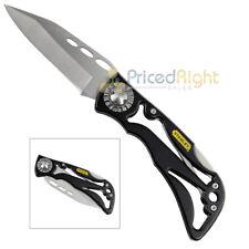 "3"" Blade Folding Pocket Knife Stainless Steel Skeleton Frame Lightweight Stanley"