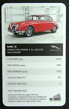1 x card Top Trumps Jaguar car MK II Inspector Morse – 2.5L XK6 Engine J30
