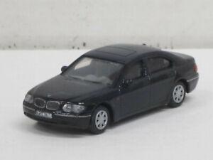 BMW 735 Li in schwarz, ohne OVP, Joy City, 1:72