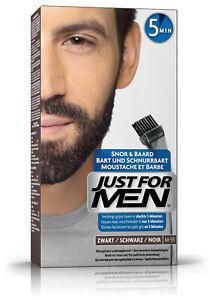 Just for Men Brush In Color Gel, Bartfarbe, Bartfärbemittel schwarz (M55)