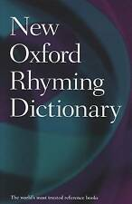 New Oxford Rhyming Dictionary by Oxford Dictionaries (Hardback, 2012)