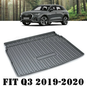Heavy Duty Cargo Trunk Mat Boot Liner Luggage Tray Fit Audi Q3 & RS Q3 2019-2021