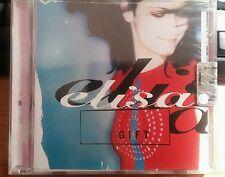 ELISA - GIFT - RARO CD SINGLE NUOVO SIGILLATO CON CELLOPHANE (SEALED)