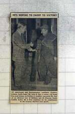 1959 Geoffrey Johnson Smith Canvassing Mr John R Day, Chimney Sweep,