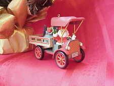 1993 Here Comes Santa #15 Happy Haul-idays Hallmark Keepsake Xmas Ornamnt xo0541