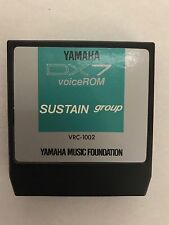 YAMAHA VRC-1002 VoiceROM SUSTAIN GROUP ROM Cartridge for DX7 II Synth