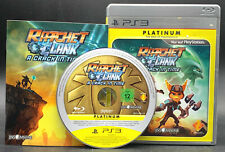 """PS 3 Playstation 3 Spiel """" RATCHET & CLANK A CRACK IN TIME """" KOMPLETT"""