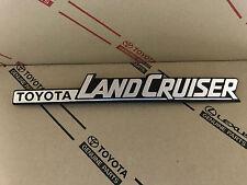 Toyota Land Cruiser BJ70 vordere Kotflügel Schriftzug Symbol Emblem Logo Plate