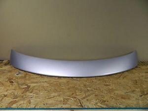 New OEM Ford Mercury Metallic Silver Rear Trunk Deck Lid Spoiler Wing