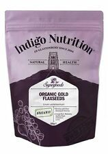 Oro orgánica flaxseeds - 500g-índigo Hierbas