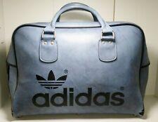 De Colección Adidas bolsa de deportes Azul/Holdall Peter Negro Usado