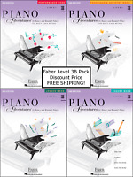 Faber Piano Adventures Level 3B - Pack Set (Lesson/Theory/Perf/Technique) Nice!